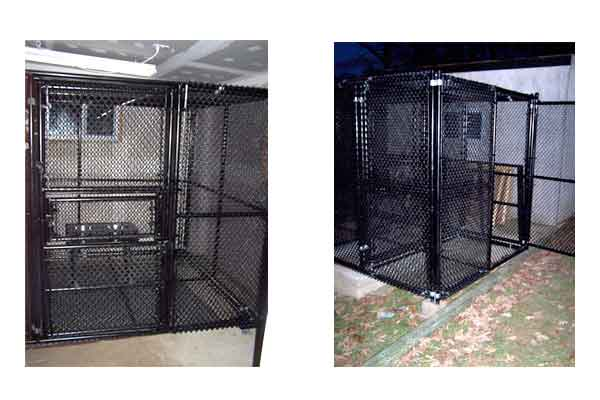 Coated Indoor Kennels