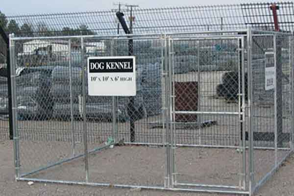 Galvanized Outdoor Kennels