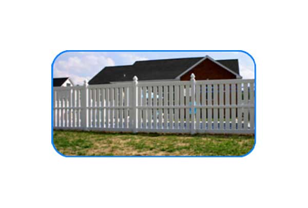 afton vinyl semi privacy fence