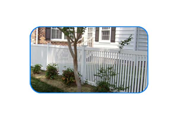 chesapeake vinyl picket fence