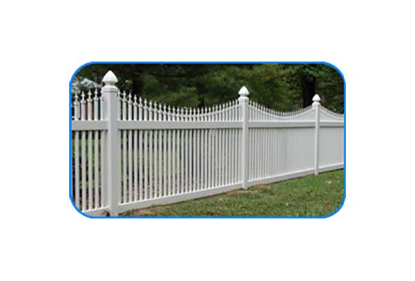 colonial heights vinyl picket fence
