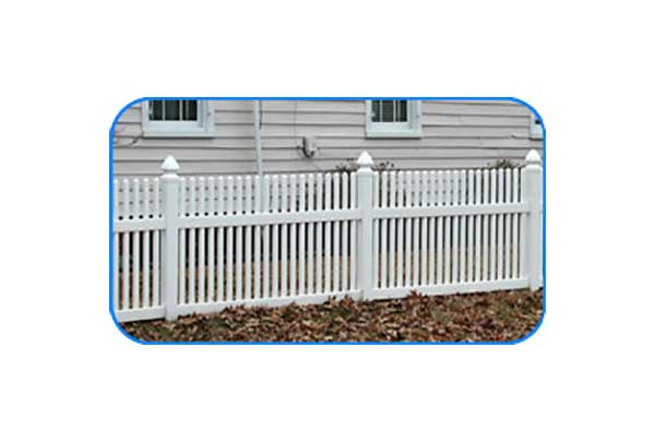 new kent vinyl picket fence