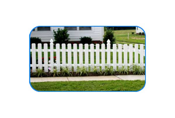 newport news vinyl picket fence