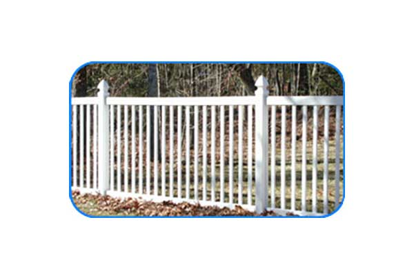 norfolk vinyl picket fence