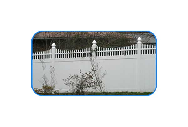 petersburg picket vinyl privacy fence
