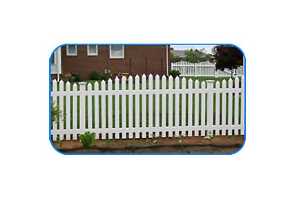 richmond concave vinyl picket fence